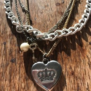 Juicy Couture multi necklace in 1